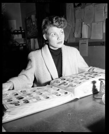 Bank Holdup, 1954
