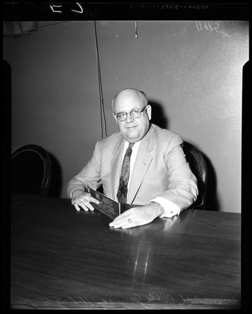 New Superintendent of Los Angeles Schools, 1956