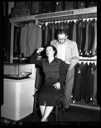 Hock Shop shooting (213 South Main Street), 1952