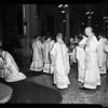 Holy Thursday at St. Vibiana's, 1954