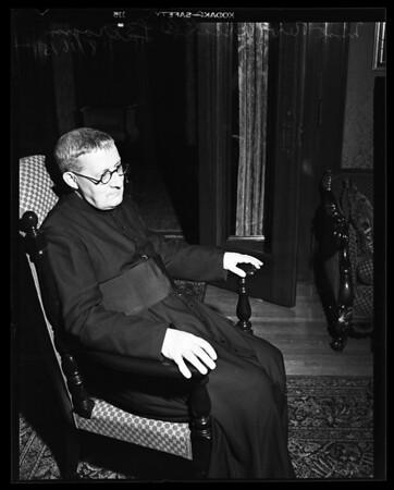 Most Reverend Larraona interview, 1952
