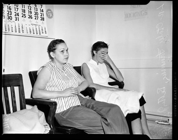 Marijuana raid, 1954