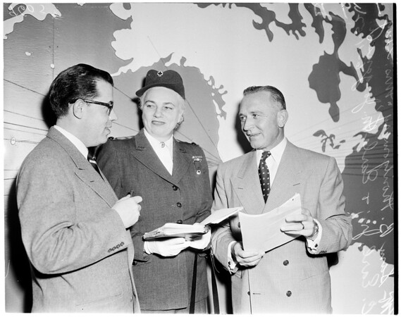 Red cross annual meeting, 1952