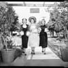 Las Floristas women at Fuchsia tea, 1952