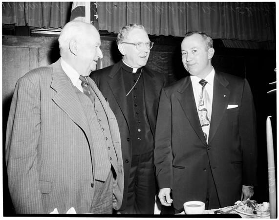 Lawyers luncheon, 1954