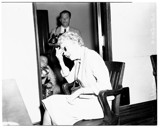 Witness in bribery case, 1954