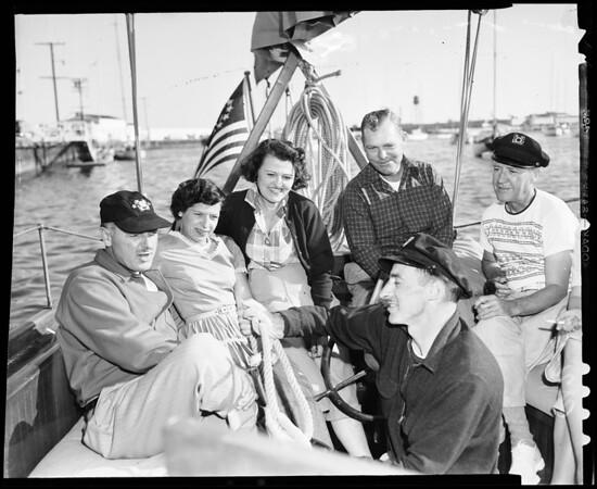 50th anniversary of Los Angeles Yacht Club, 1952