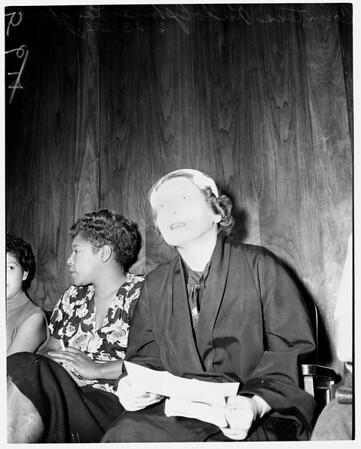 Bad checks, 1954