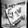 Linen show (Lankershim Hotel), 1952