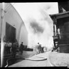 Warner Brothers studio fire (Burbank), 1952
