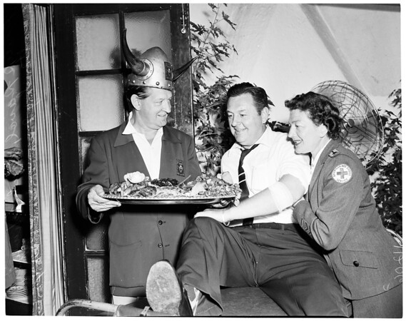 Viking Club blood donor luncheon, 1954