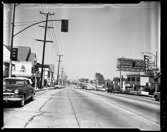 Sunset strip feature, 1957