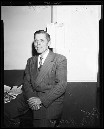 Reverend T.M. Hicks, 1952