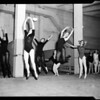 Ballet rehearsal at Greek Theater, 1957