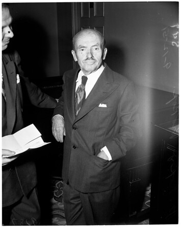 Un-American Hearings ... Hollywood Roosevelt Hotel, 1951