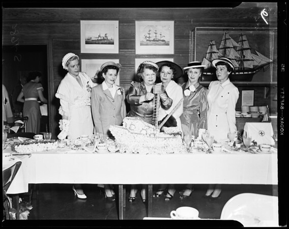 San Pedro Chamber of Commerce annual luncheon, 1952