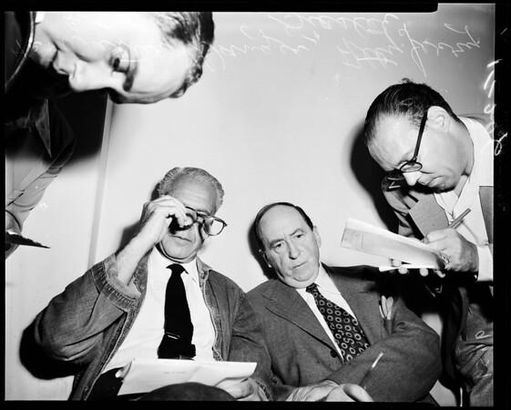 Wanger parole, 1952