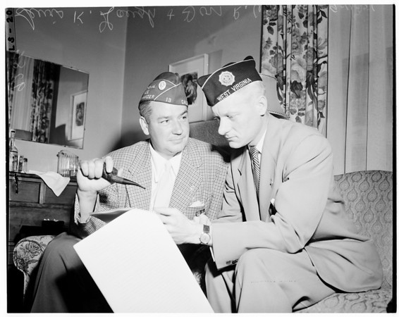 American Legion's convention, San Diego, 1951