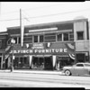 J.B. Finch Furniture Store opening, 1952