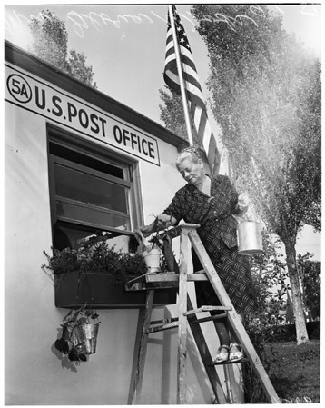 Smallest Postoffice --- Mt. San Antonio College, 1951