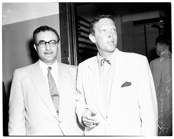 Dick Haymes deportation etc., 1954