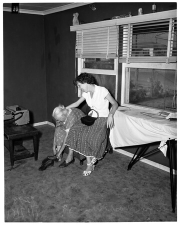 Unfit home for children, 1951