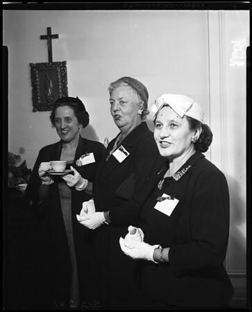 St. John of God Hospital tea, 1957