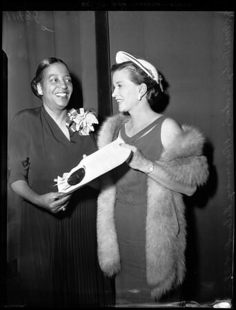 Urban League Awards, 1955
