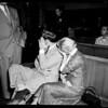 Burglar preliminary trial, 1952