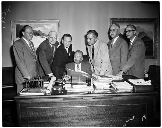 Polio meeting, 1955