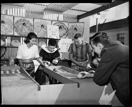 Mayfield School festival, Pasadena, 1957
