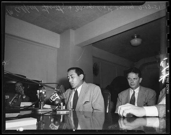 Un-American hearings (candid shots too), 1951