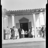 Saint Francis Church Episcopalian dedication ceremony, Palos Verdes Estates, 1952