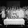 International Garden Party for missionaries at Immanuel Presbyterian Church, 1955