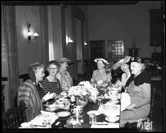 Wilshire Ebell Club, 1957