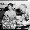Injured fawn, 1955