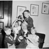Crowning city fathers, 1952