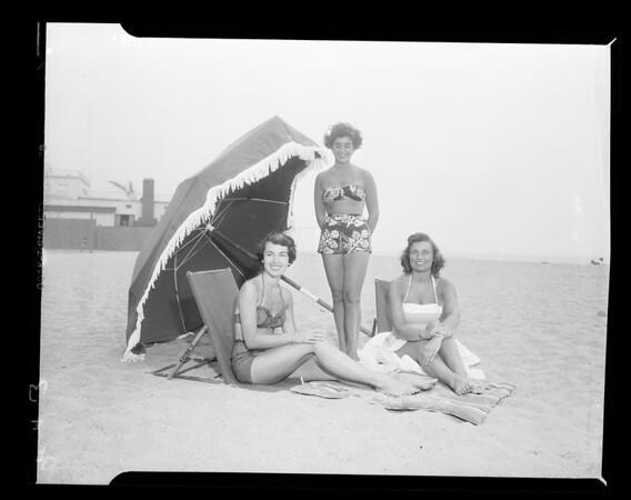 Beach Club, Santa Monica, 1952