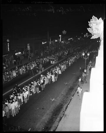 Pasadena Street Dance, 1952
