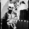 Benediction of animals (Olvera street), 1954