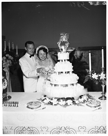 Connie Haines' wedding, 1951