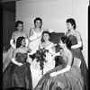 Greek Coronation Queen Ball (Hellenic-American community), 1957