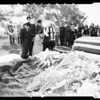 Korean veteran funeral ... Calvery Cemetery (Private First Class Mike Garza -- 24 years), 1952