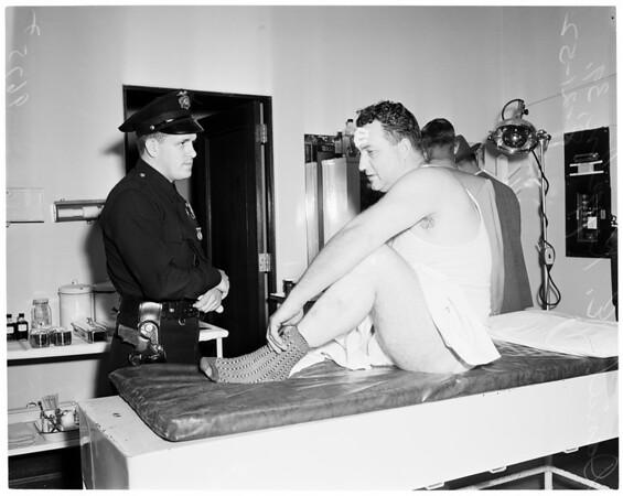 Pasadena man kidnapped, 1952
