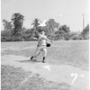 Baseball player, 1952