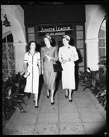 Junior League Provisionals, 1952