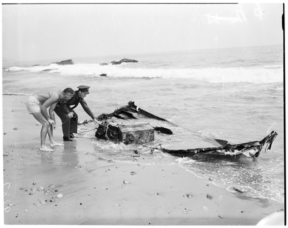 Boat explosion, 1951