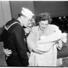 USS Saint Paul arrival in Long Beach, 1952
