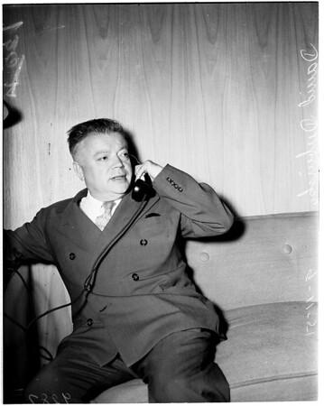 I.L.W.U. (International Longshoremen's and Warehousemen's Union) meet, 1951