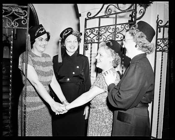 New Shriners wives groups, 1952